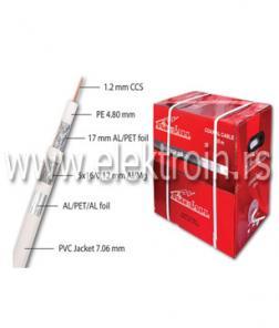 Koaksijalni kabl RG6 TRI-SHIELD