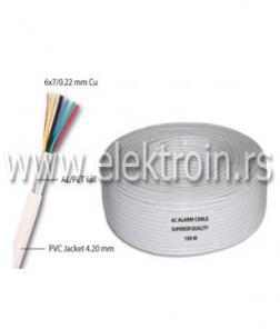 Alarmni kabl 6C Cu