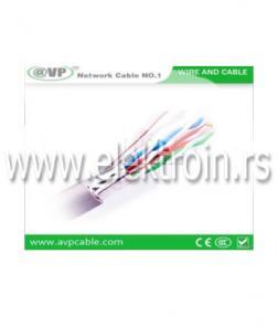 Mrežni UTP kabal CAT5e CU // AVP
