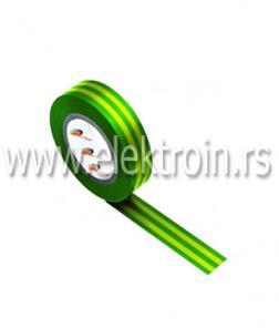 Izolir traka PVC žuto zelena