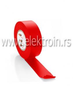 Izolir traka PVC crvena