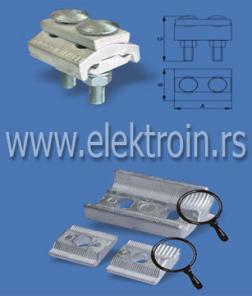 Aluminijumska univerzalna odvojena stezaljka 6-50