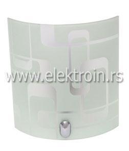M1952-B5 bela zidna lampa