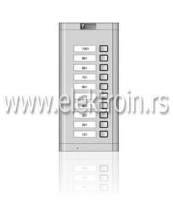 Tastatura za dvožični audio interfon T2-10